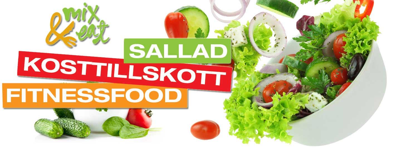 Sallad - Kosttillskott - Fitnessfood